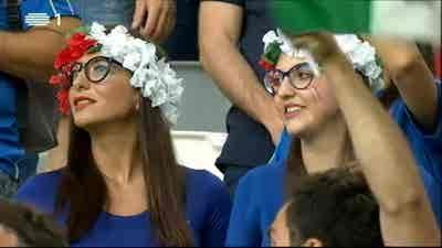 Futebol: Campeonato Europa 2016 - França - Alemanha x Itália