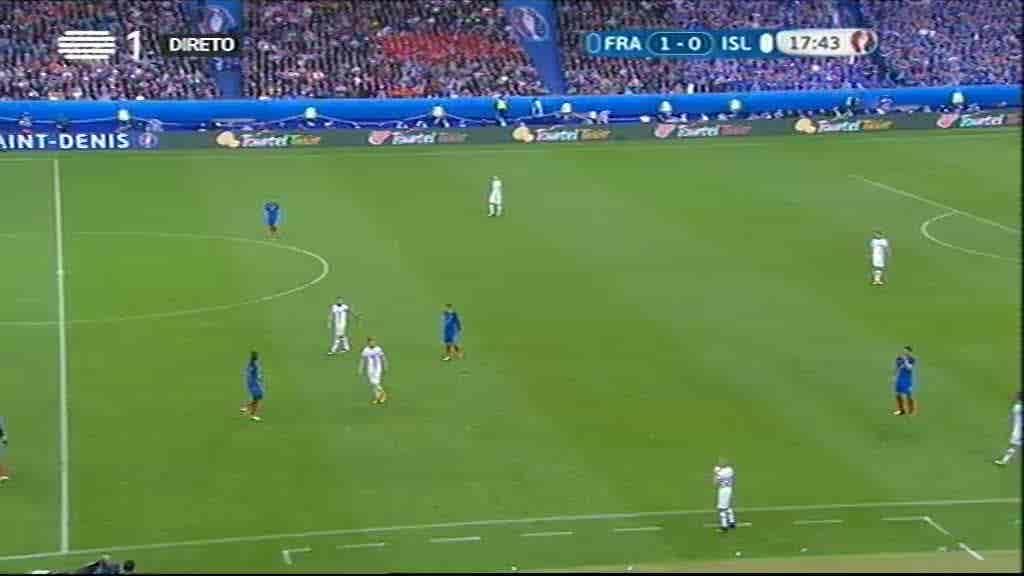 França x Islândia...
