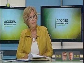 Eleições Regionais - Açores 2016 - 9 Ci - Debate 2 outubro