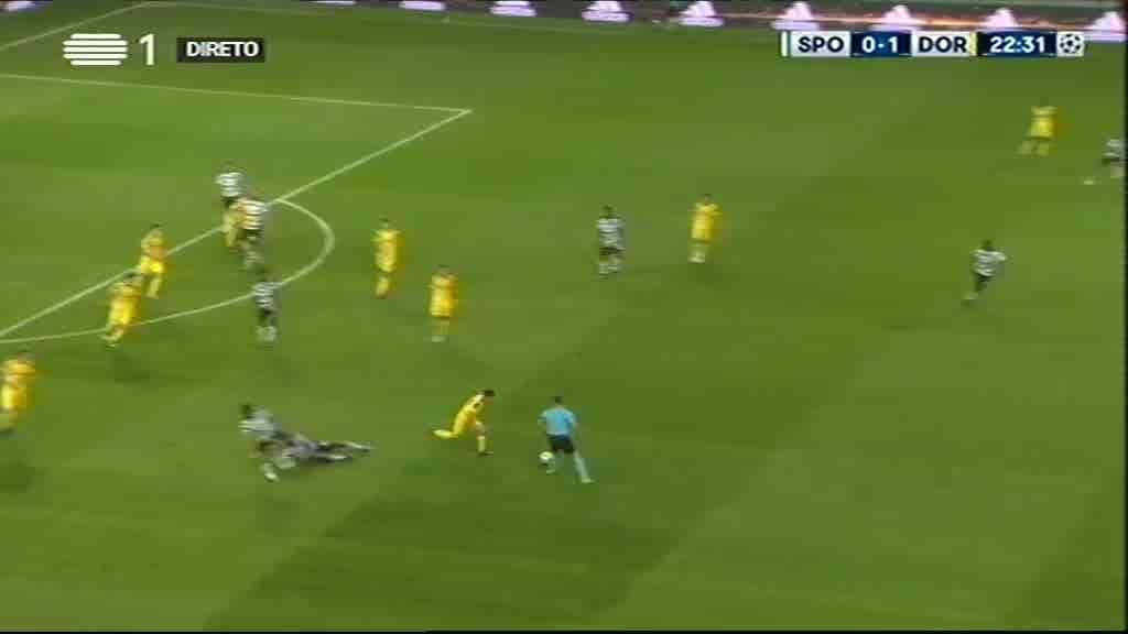 Sporting x Borussia Dortmund...