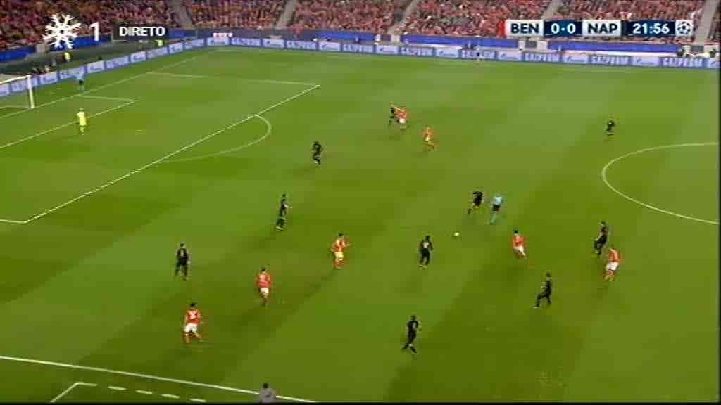 Benfica x Nápoles...