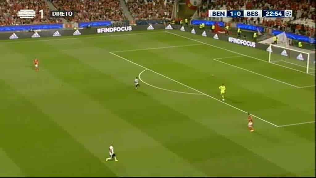 Benfica x Besiktas...