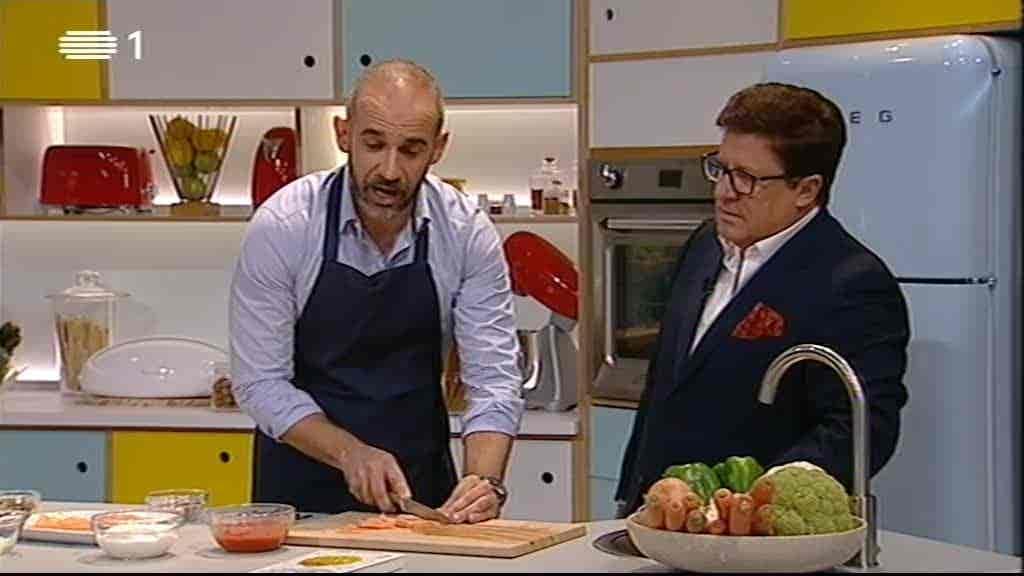 João Moleira, Katia Guerreiro e Márc...