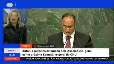 Edição Especial - Discurso de António Gu