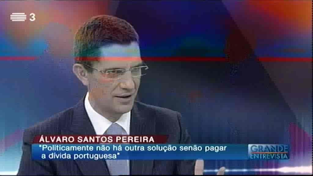Álvaro Santos Pereira...