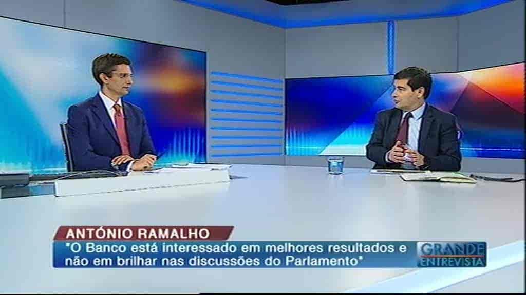António Ramalho...