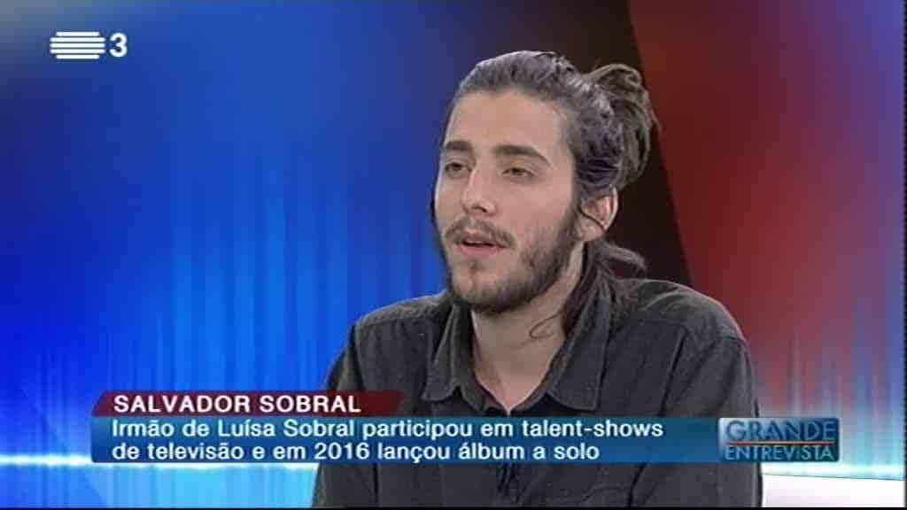 Salvador Sobral...