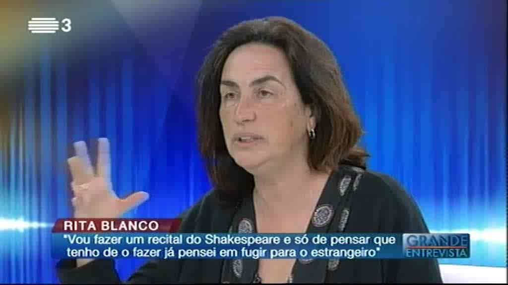 Rita Blanco...