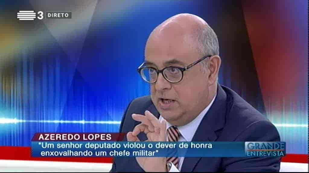 Azeredo Lopes...