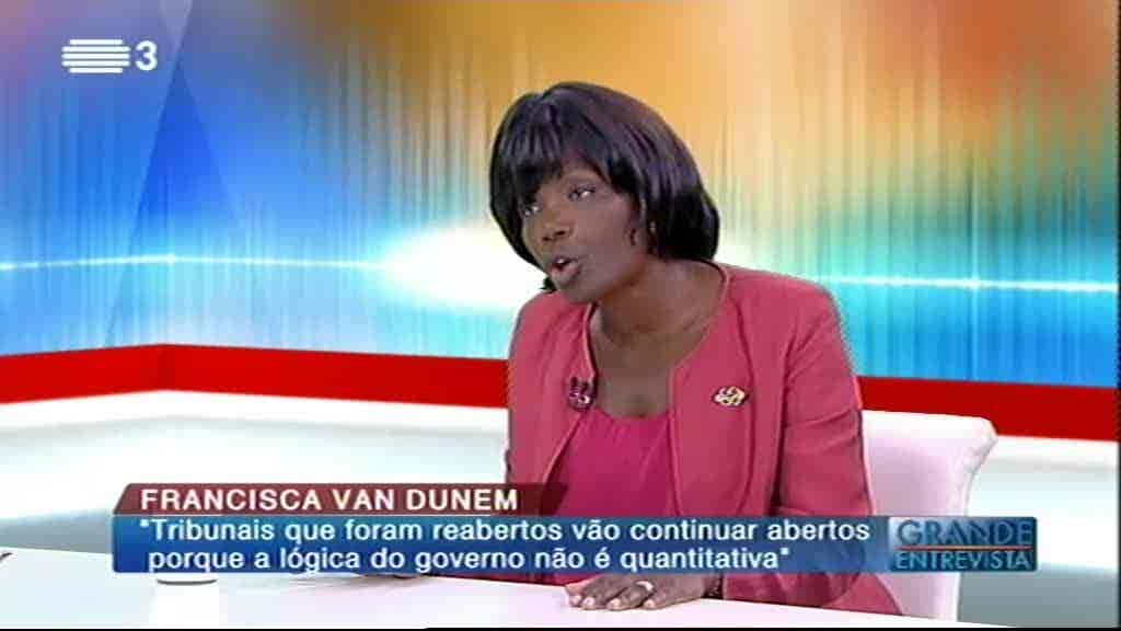 Francisca Van Dunem...