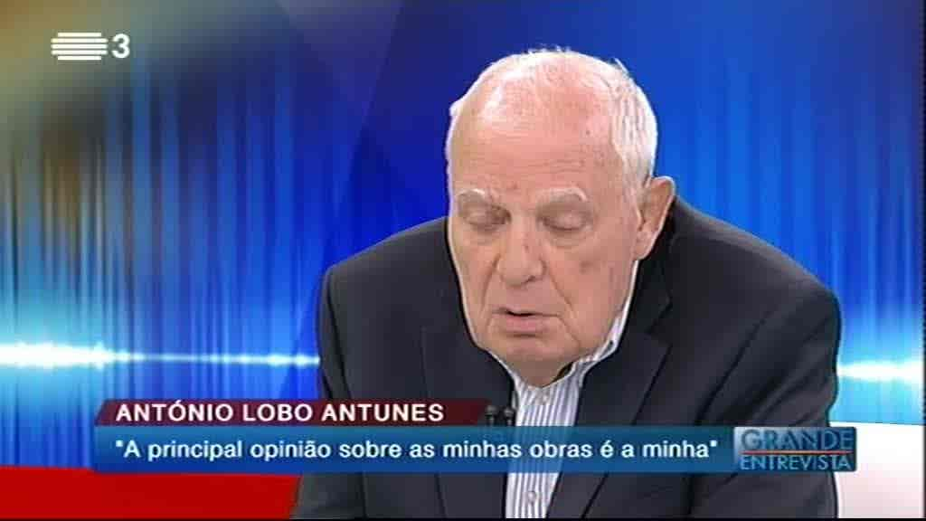 António Lobo Antunes...