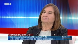 Grande Entrevista - Isabel do Carmo