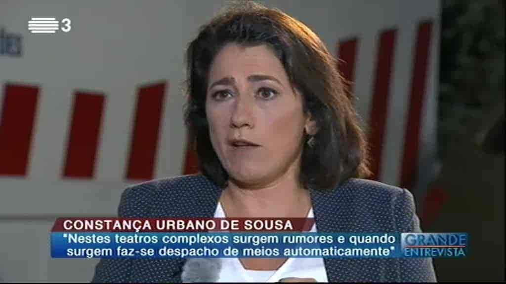 Constança Urbano de Sousa...