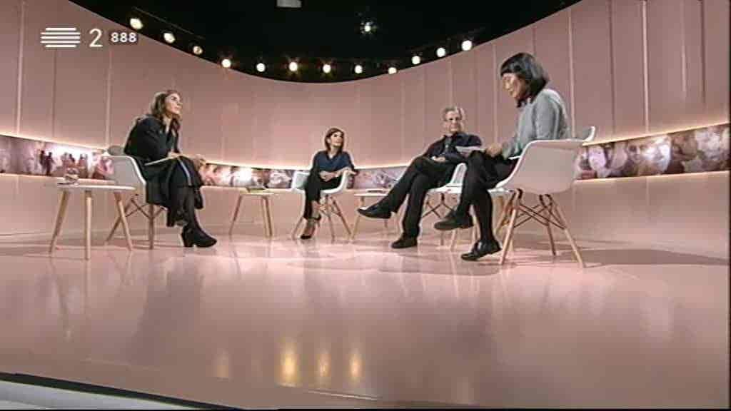 Convidados: Ana Dias da Silva, José Manuel Pereira de Almeida, Yara Kono