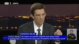 Entrevista ao Ex-Presidente da República Aníbal Cavaco Silva