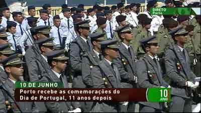 Comemorações 10 de Junho 2017 Porto Para