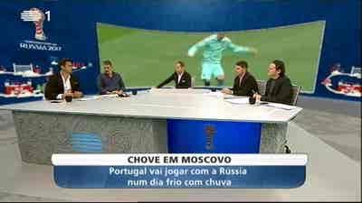 Futebol: Taça das Confederações 2017 - Rússia x Portugal + México x Nova Zelândia