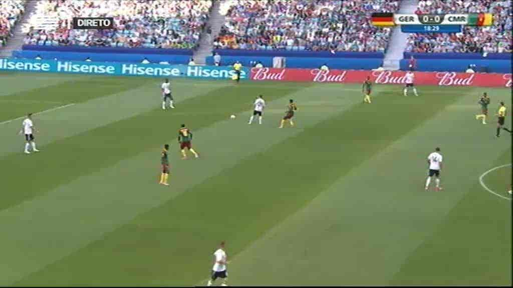 Alemanha x Camarões + Chile x Austrá...