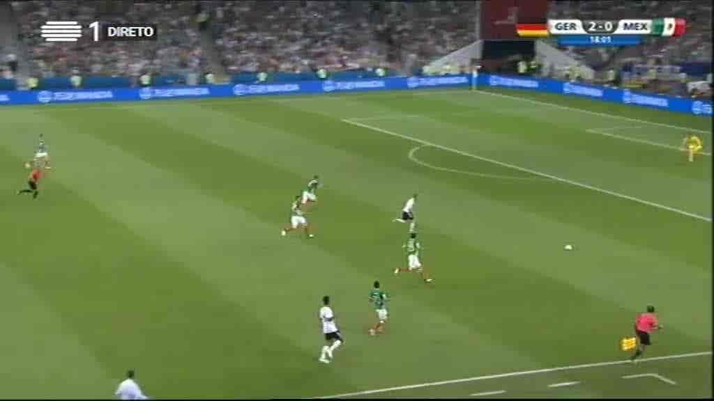 Alemanha x México...