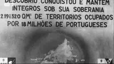História a História África - O Império de Salazar