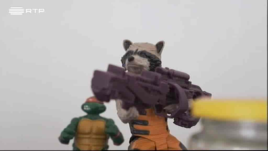 """Rocket Raccoon"", Marvel - Jorge Coe..."