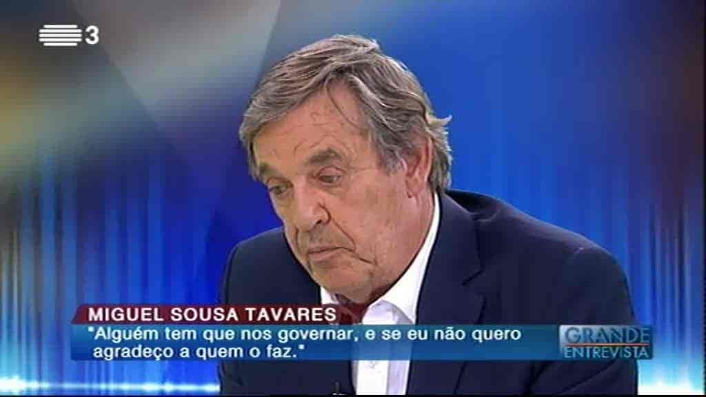 Miguel Sousa Tavares...