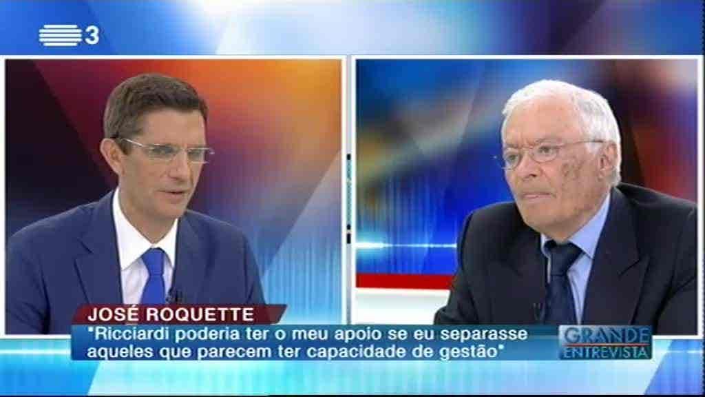 José Roquette...