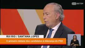 Rui Rio/Santana Lopes - O Debate - Rui Rio/ Santana Lopes - O Debate