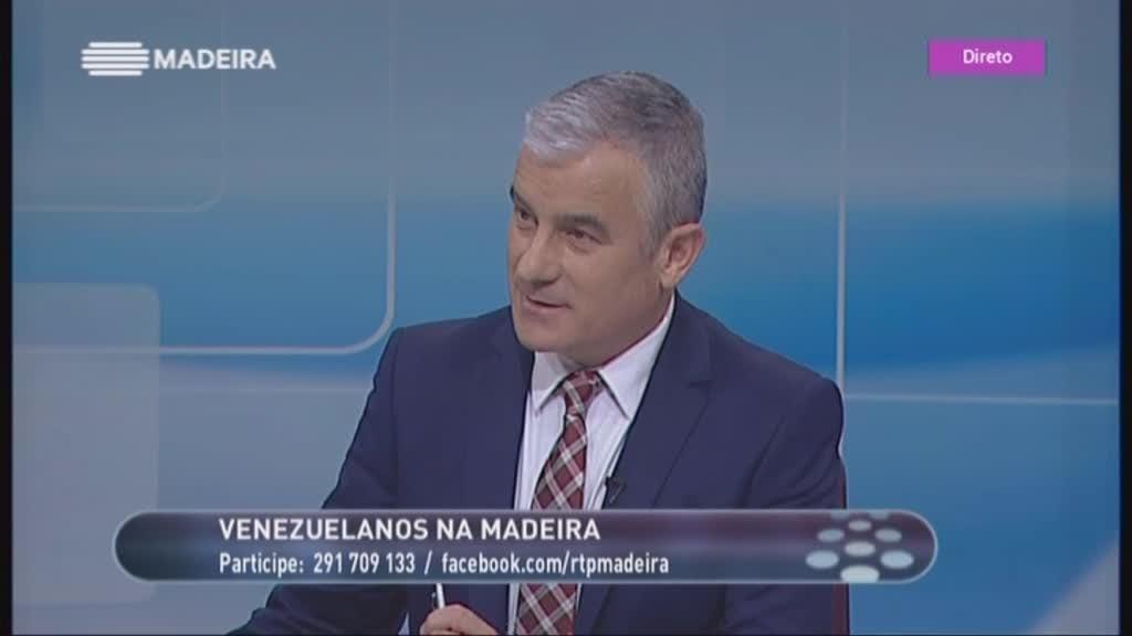 Emigrantes venezuelanos na Madeira