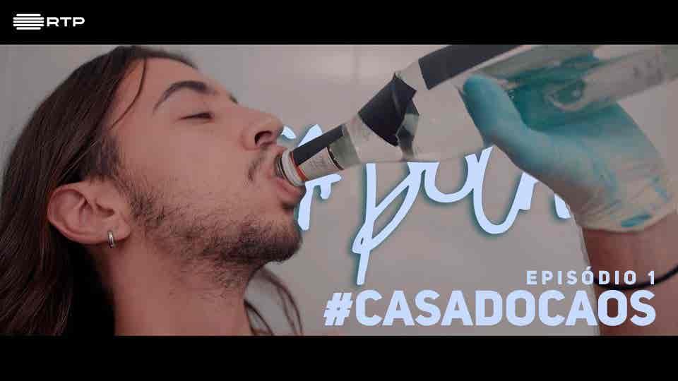 #CasaDoCaos...