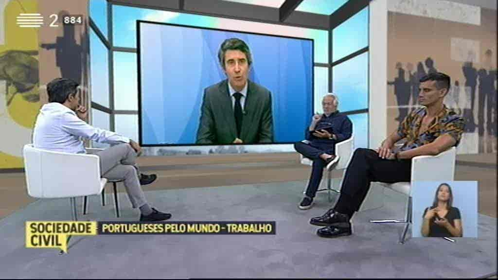 Portugueses pelo Mundo: Trabalho...