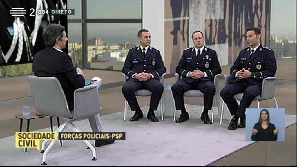 Forças Policiais - PSP...
