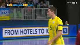 Campeonato da Europa de Futsal 2018 - Ucrânia x Portugal