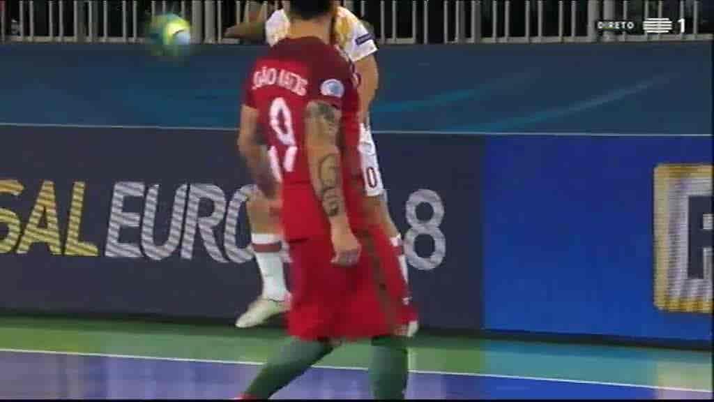Final: Espanha x Portugal...