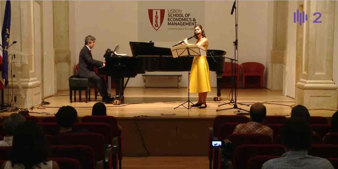 Marina Camponês e Francisco Sassetti...