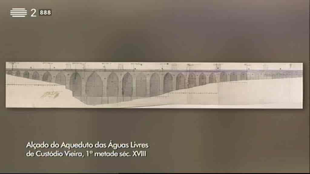 Aqueduto das Águas Livres, Lisboa...