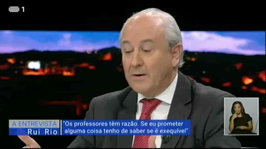 Rui Rio...
