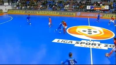 9fc6f50206 Futsal  Liga Sport Zone 2018 2019 Episódio 18 - de 24 Fev 2019 - RTP ...