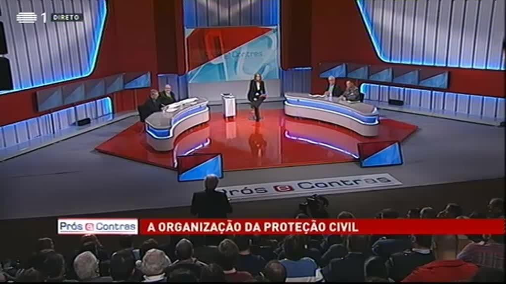 A Organização da Proteção Civil