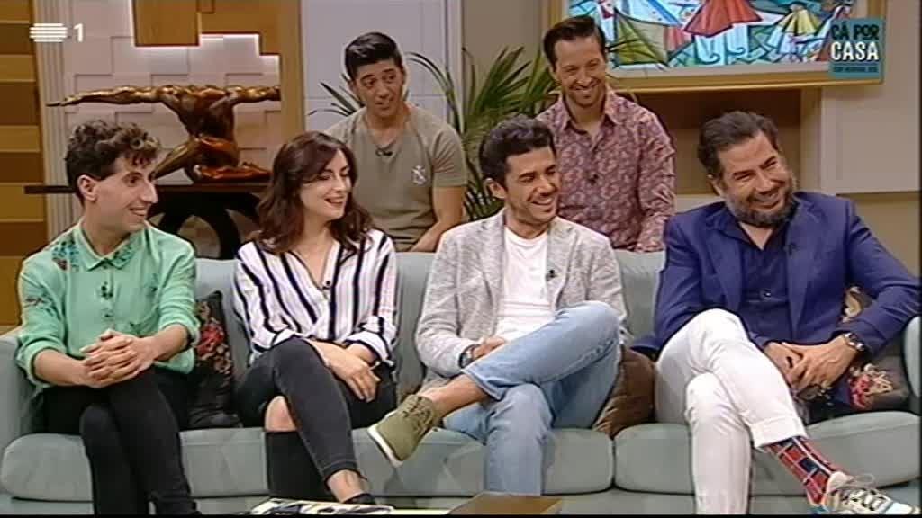 Ricardo e Henrique, Luís Pedro Nunes, Tiago Froufe, Carolina Torres, Isac Graça, Ricardo Ribeiro, Virgul