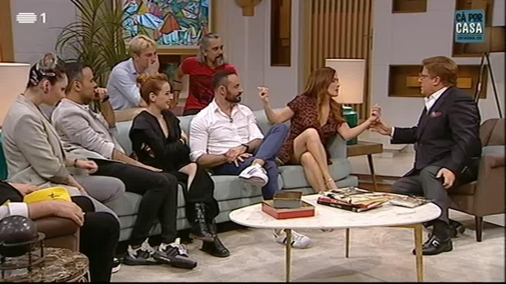 São José Correia, Rui Neto, Luís Gaspar, Rodrigo Tomás, Marisa Liz, Tiago Pais Dias, Cláudia Pascoal, Augusto Canário
