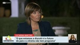 A Entrevista: Catarina Martins