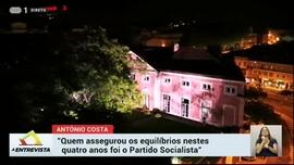 A Entrevista: António Costa