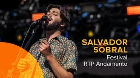 Festival RTP Andamento - Salvador Sobral