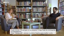 Filipe Melo  autor de «A Balada para Sophie» José Luís Peixoto  autor de « Regresso a Casa»