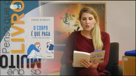 Cláudia Durastanti  autora de «Sempre Estrangeira» Pedro Strecht  autor de «O Corpo é que Paga»