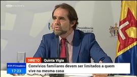 Comunicado do Presidente do Governo Regional da Madeira