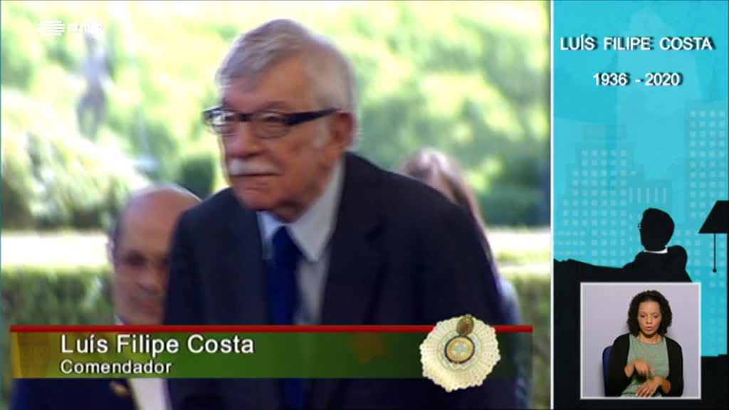 Homenagem a Luís Filipe Costa