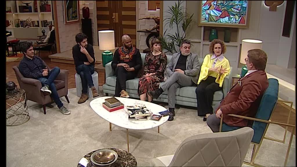 Sofia Escobar, Renato Júnior, João Pedro Pais, Luísa Cruz, João Moreira e General D