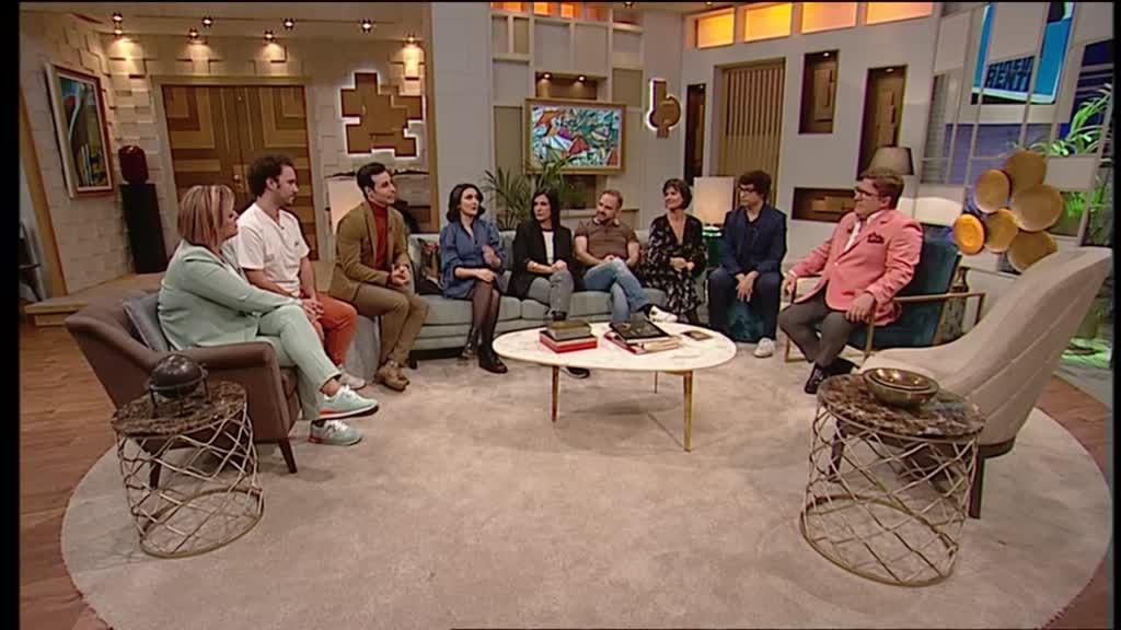 Valéria Carvalho, Micaela, Jorge Mourato, Buba, elenco